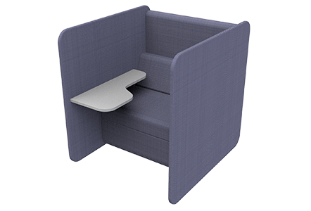 High Back Chair with laptop table