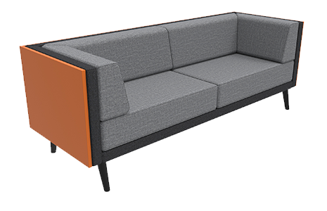 3 Seat Sofa with Cladding