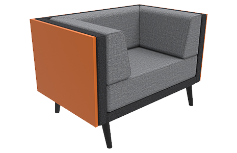 1 Seat with Cladding